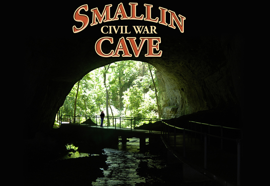 Smallin Civil War Cave Website Background